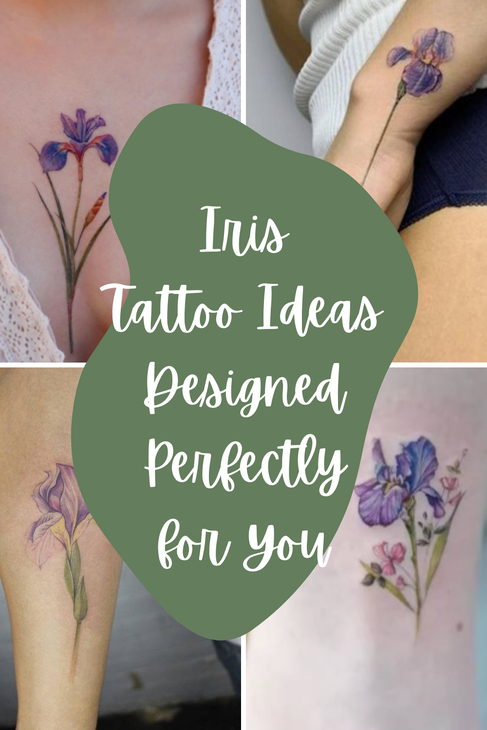 Iris Tattoo Ideas