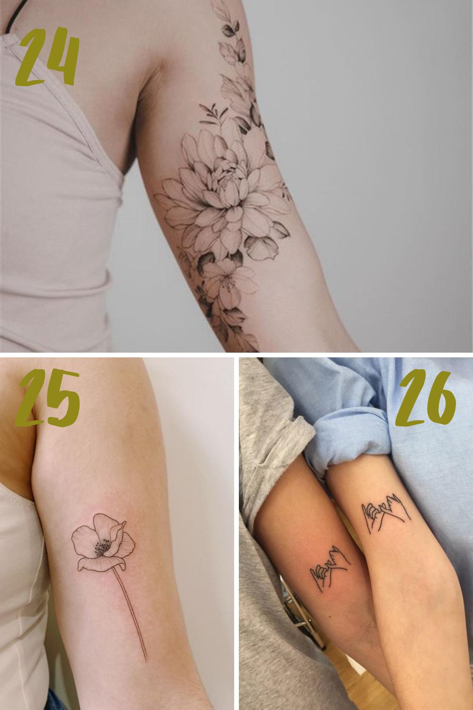 Beautiful Bicep Tattoo Designs