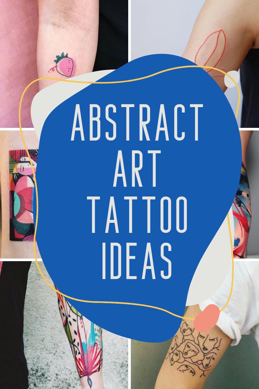 Abstract Art Tattoo Ideas