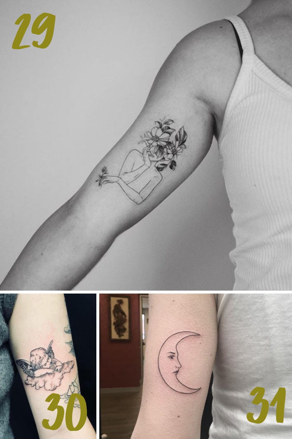 Meaningful Bicep Tattoos