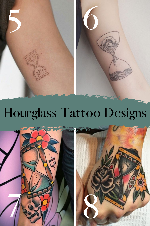 Hourglass Tattoo Designs & Inspiration
