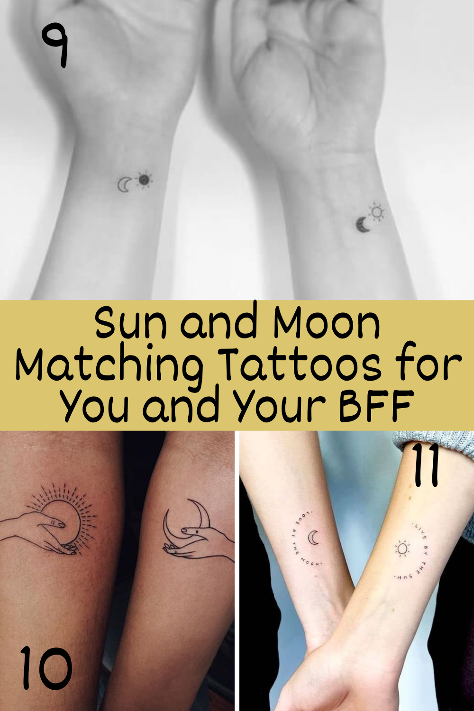 matching best friend tattoo ideas
