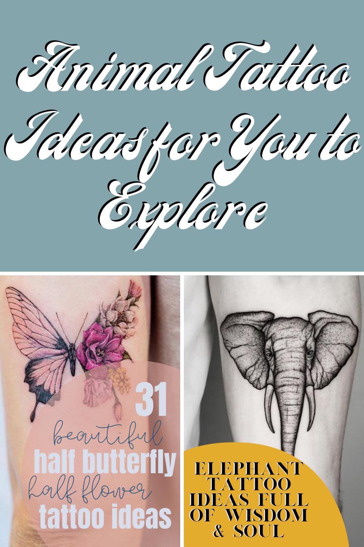 400+ Animal Tattoo Ideas