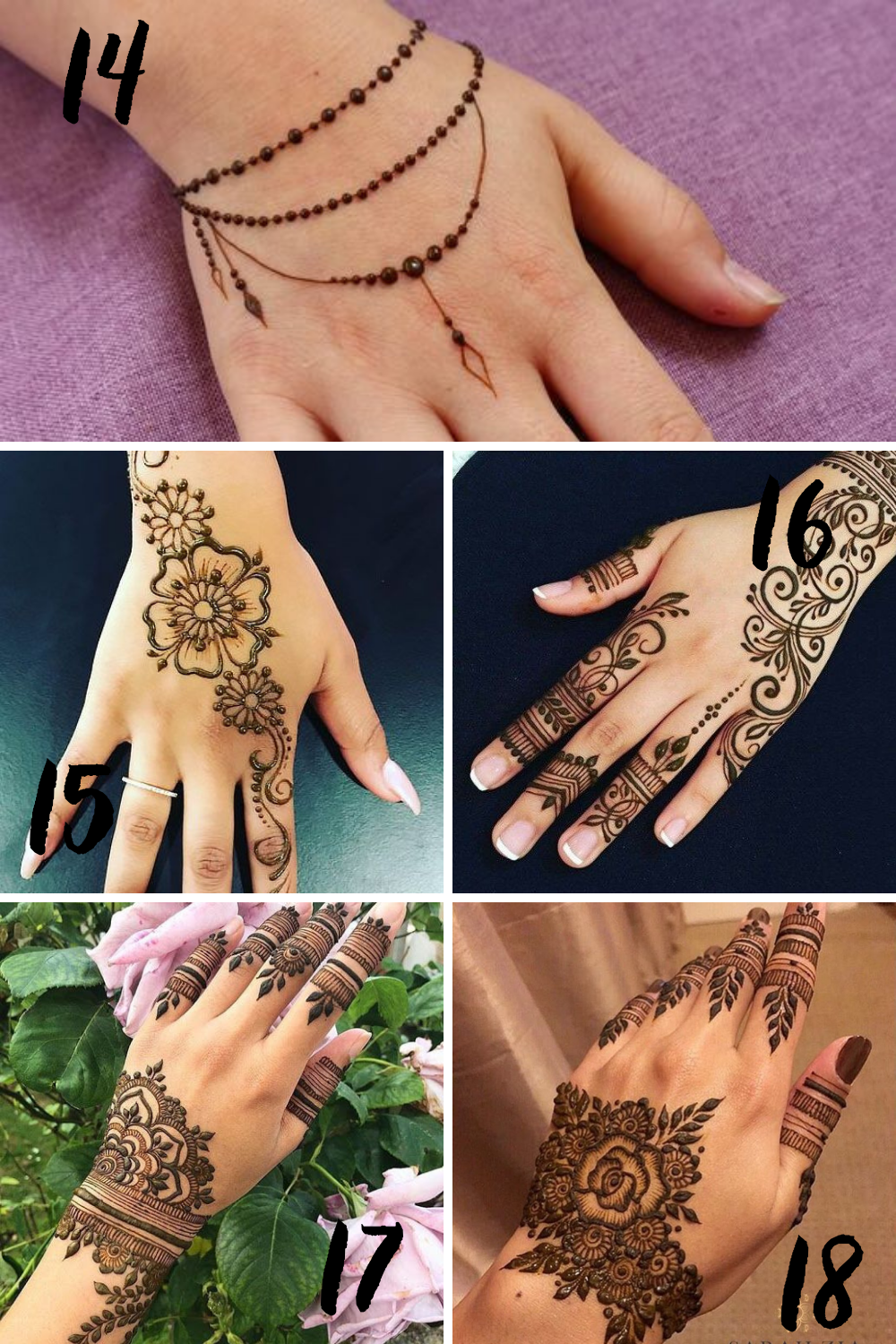 Henna Tattoo Inspiration For Weddings