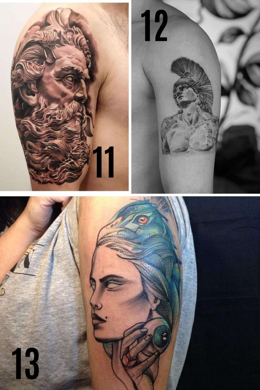 Greek Mythology Tattoo Designs & Ideas