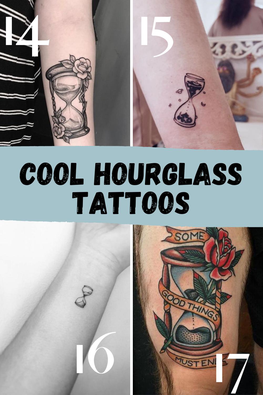 Cool Hourglass Tattoo Ideas