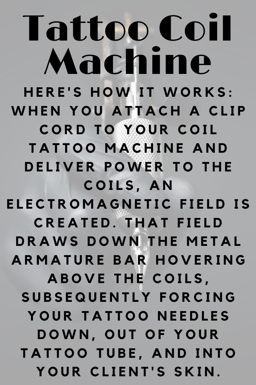 Tattoo Coil Machine Definition