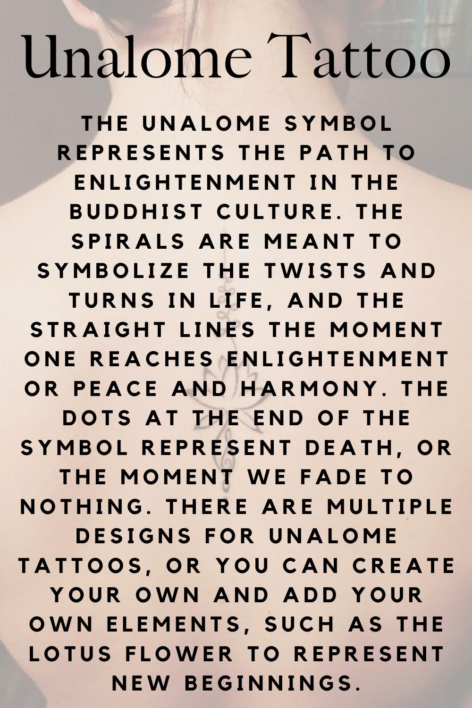Unalome Tattoo Definition