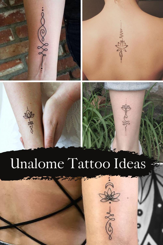 Unalome Tattoo Ideas