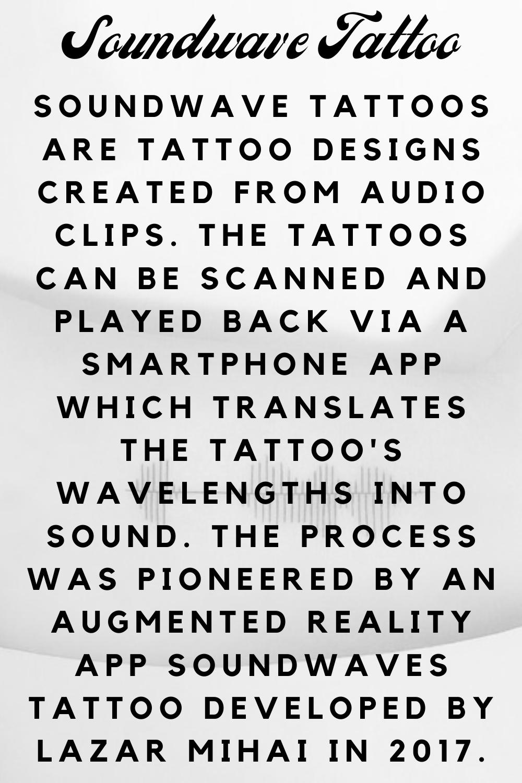 Soundwave Tattoo Definition