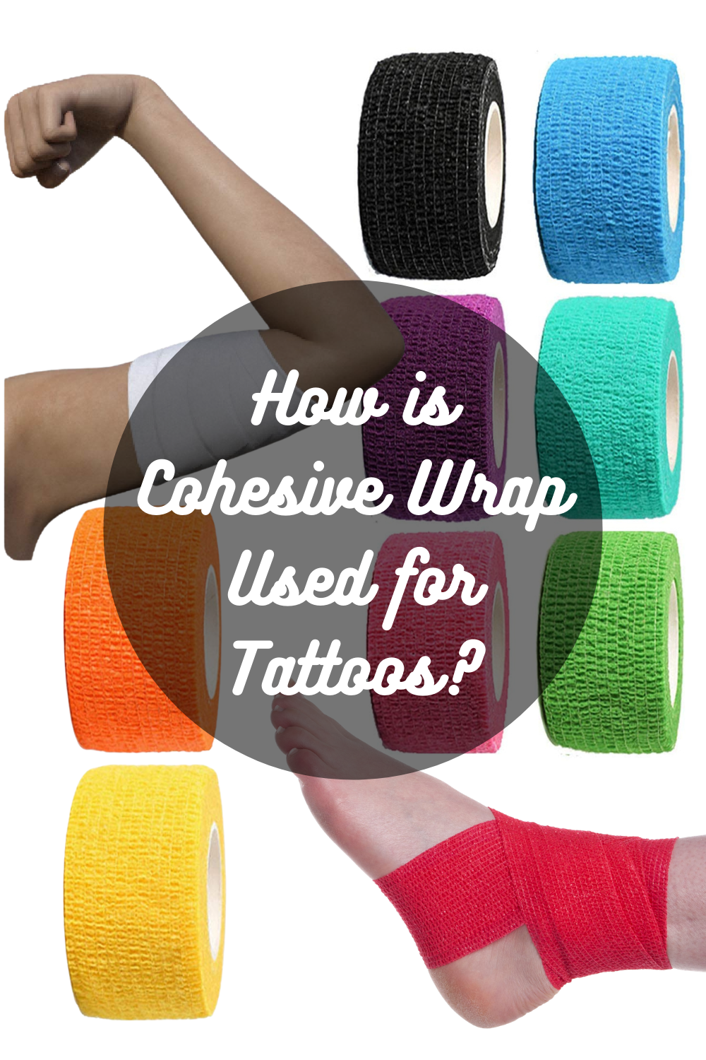 Who is Cohesive Wrap used for tattoos?