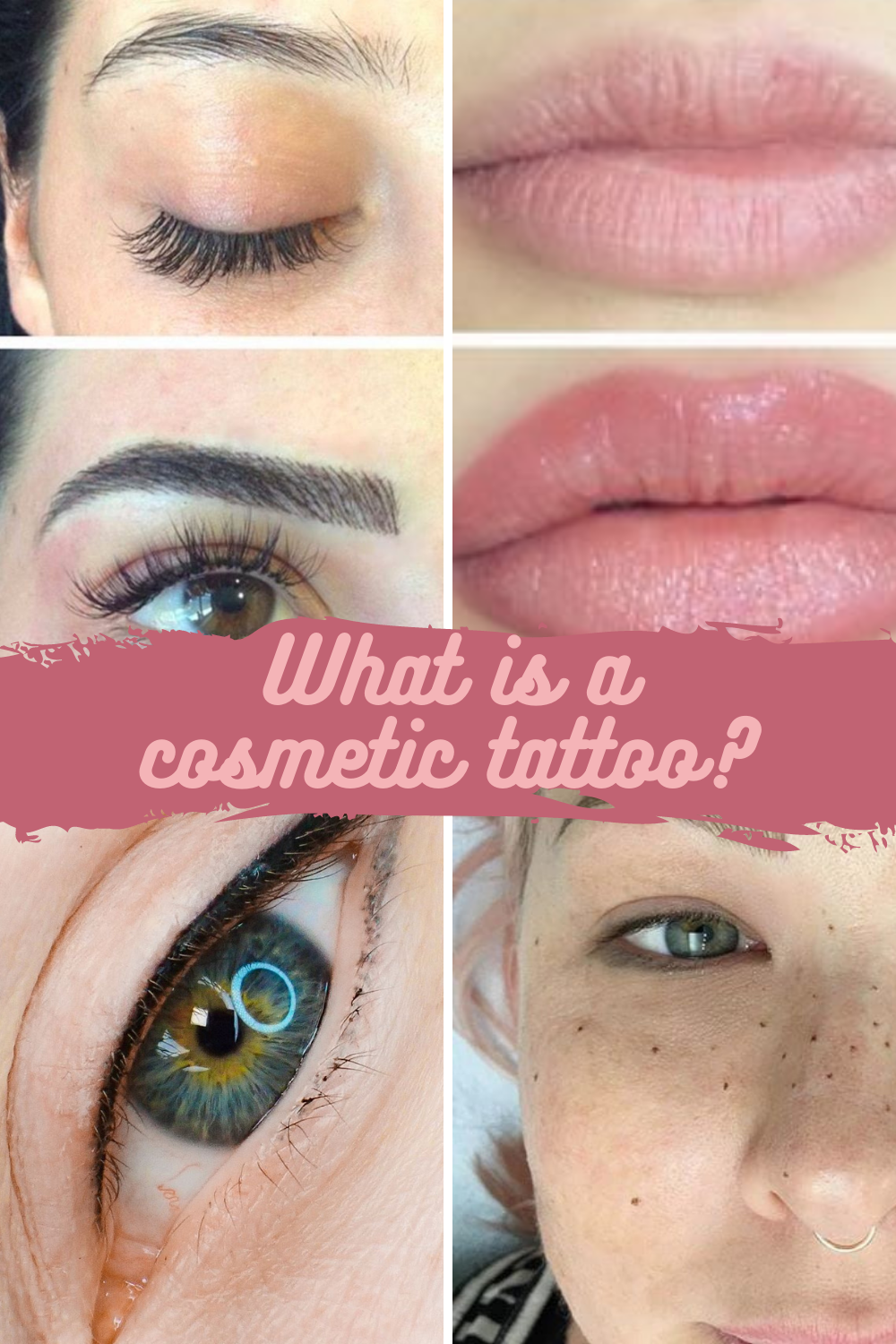 What is a Cosmetic Tattoo
