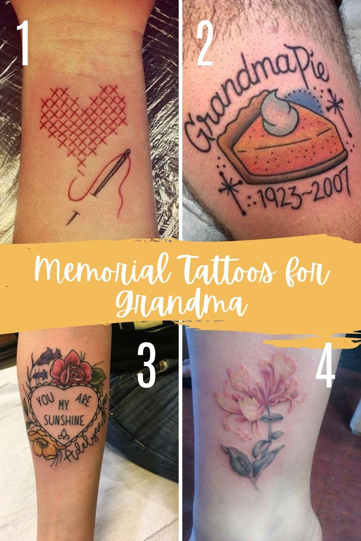 Memorial Tattoos For Grandma