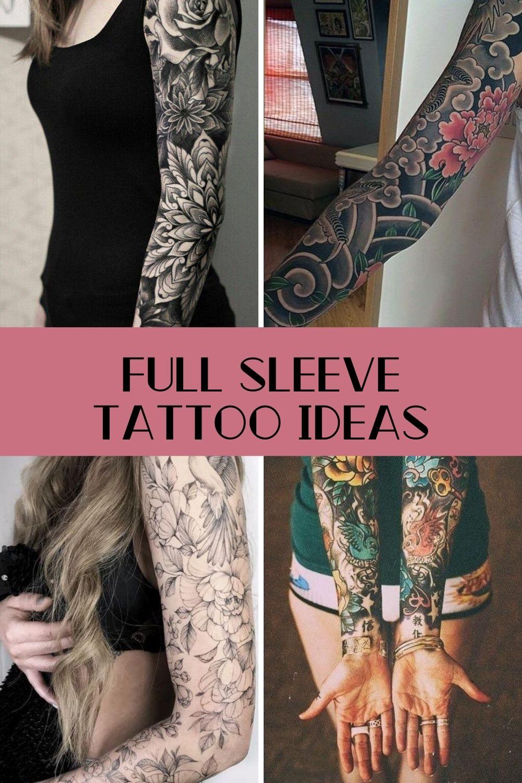 Full Sleeve Tattoo Ideas & Designs