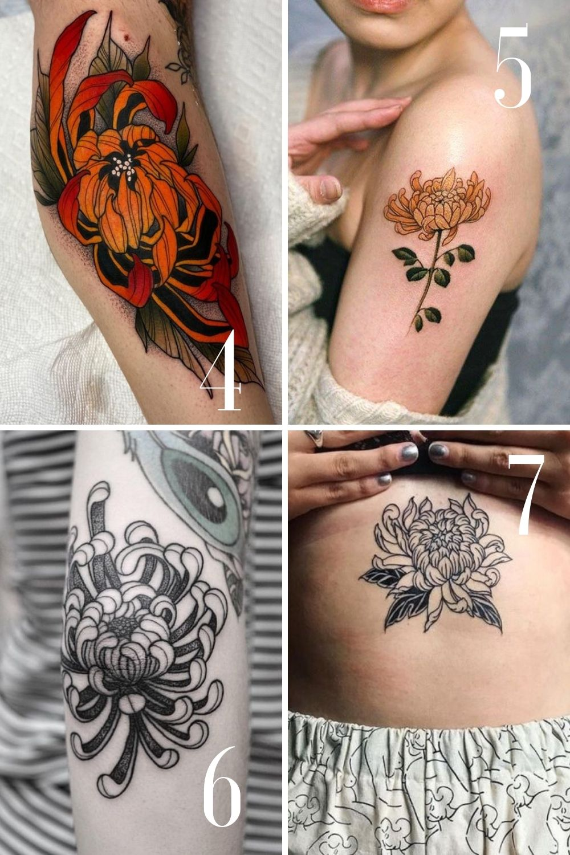 flower tattoos for Sleeve