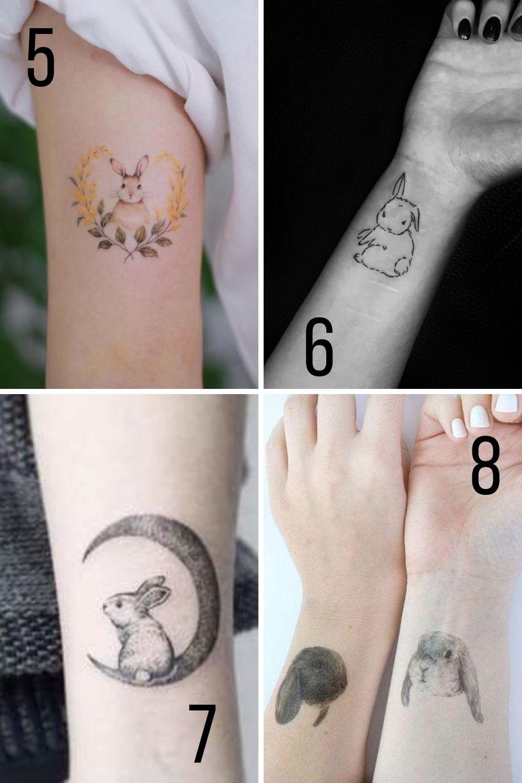 Cuddle Bunny Tattoo Ideas