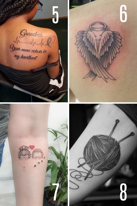 grandmother tattoo ideas