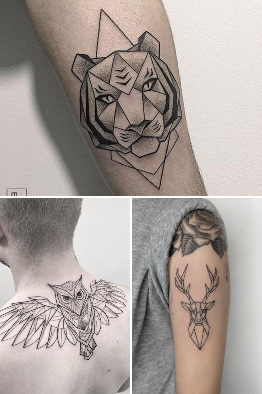 Geometric Animal Tattoo Designs & Inspiration
