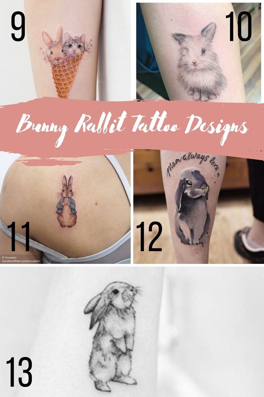 Rabbit Tattoo Designs