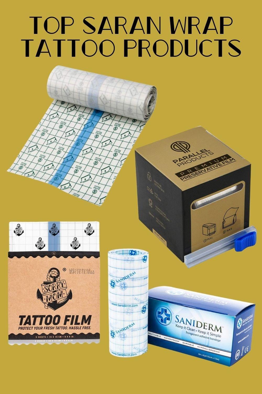 Saran Wrap Tattoo Products