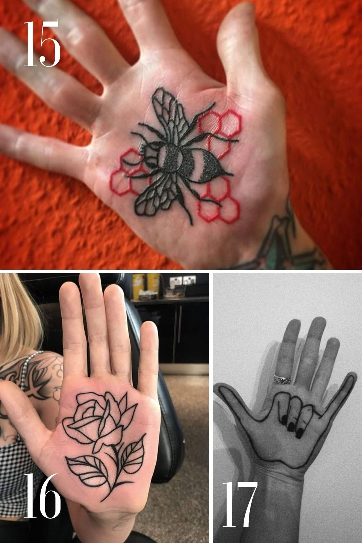 unique ink ideas for hands