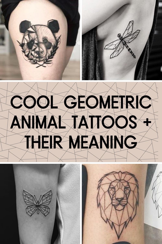 Geometric Animal Tattoos