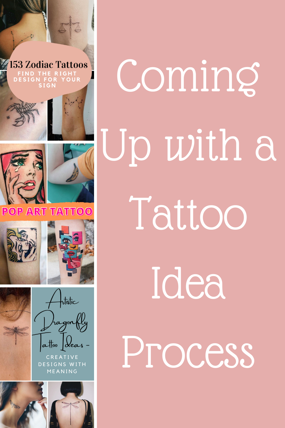 Process tips for designing your own tattoo