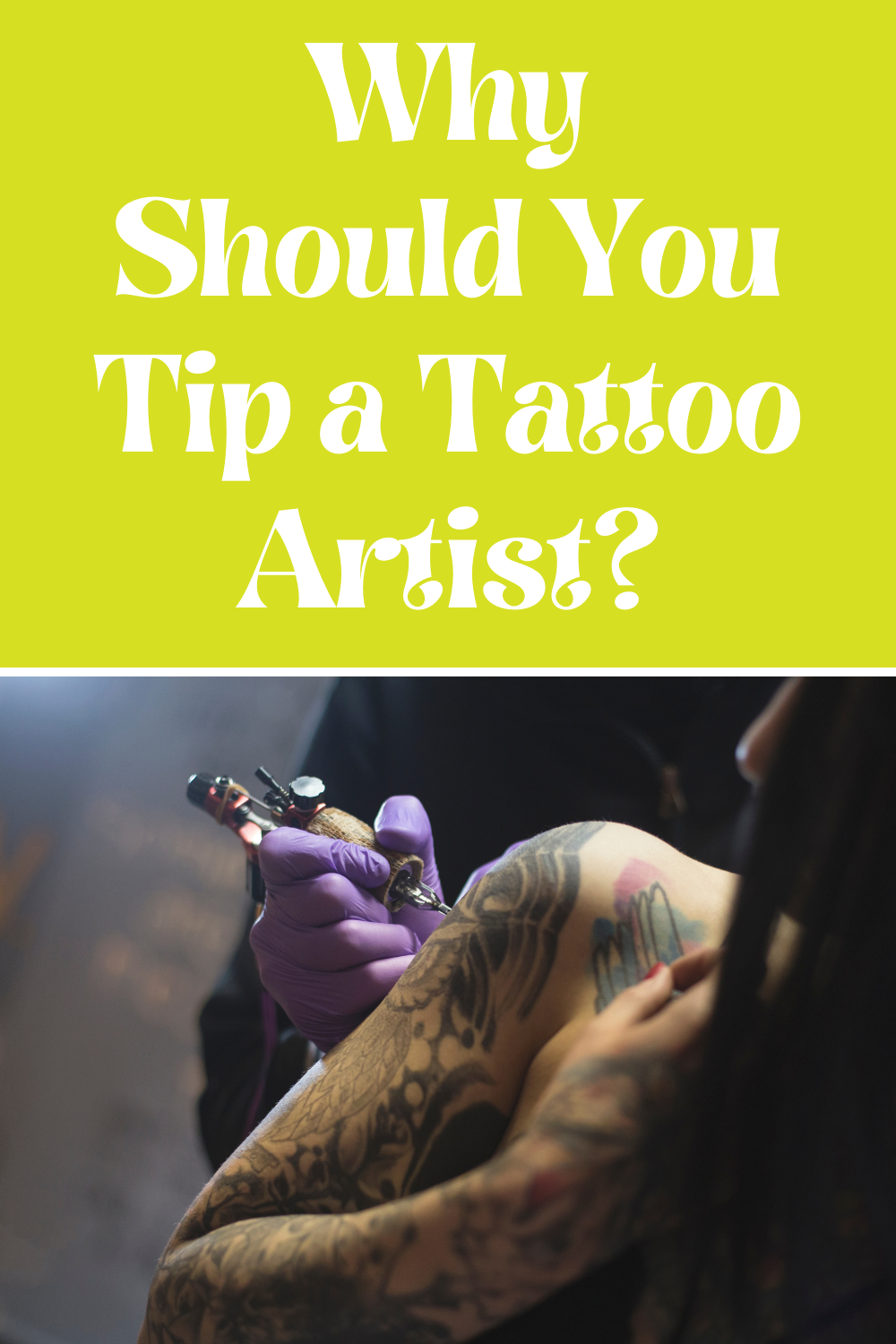 How Much to Tip Tattoo Artist Where You Live