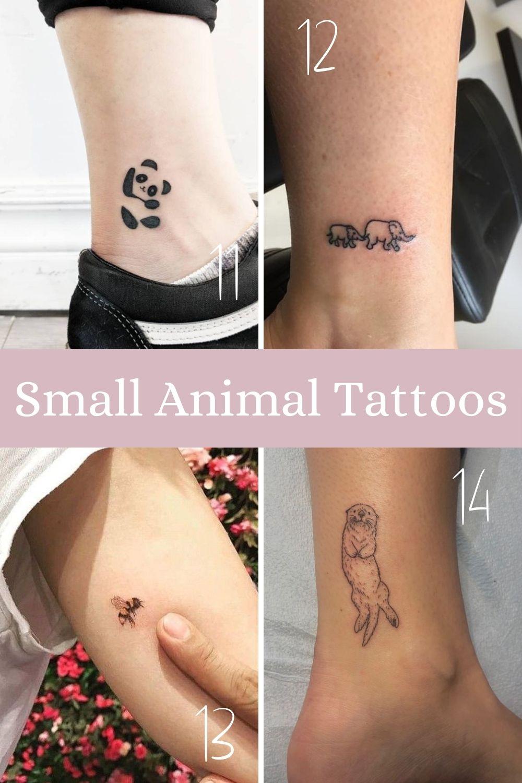 Cute Small Animal Tattoos