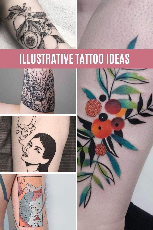 Illustrative Tattoo Ideas