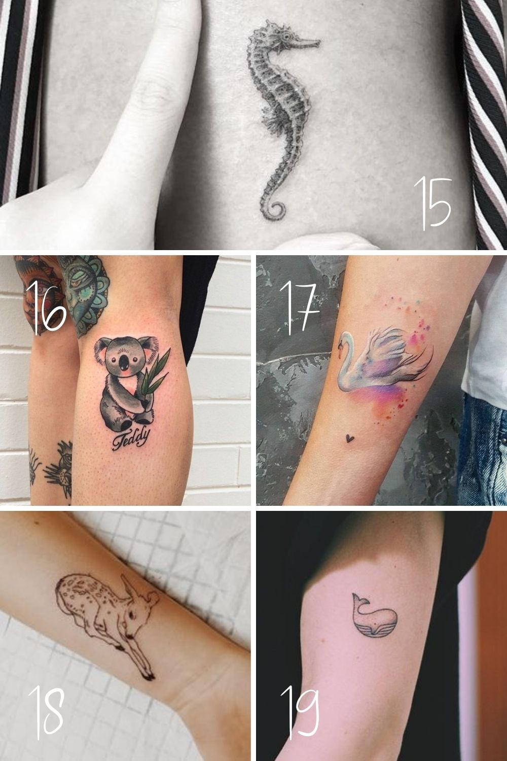 Small Animal Tattoos That Are Cute