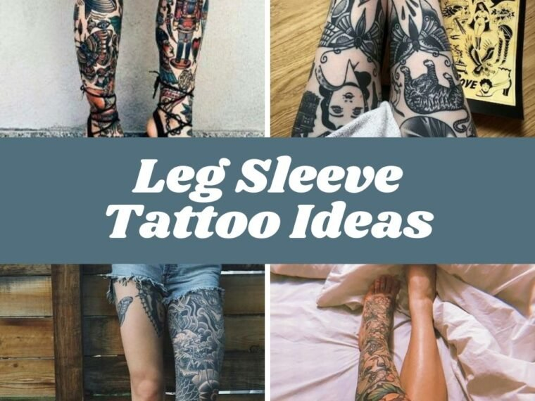 Leg Sleeve Tattoo Ideas