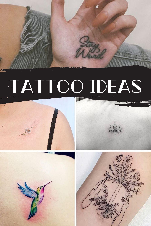 Mainstream Tattoo Ideas You Mom Won't Hate