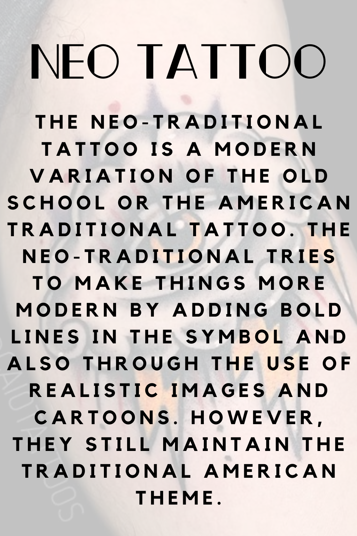 Neo Tattoo definition