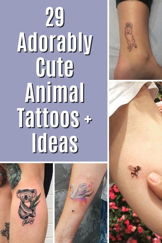 Cute Animal Tattoos