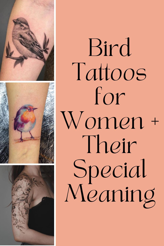Bird Tattoos for Women