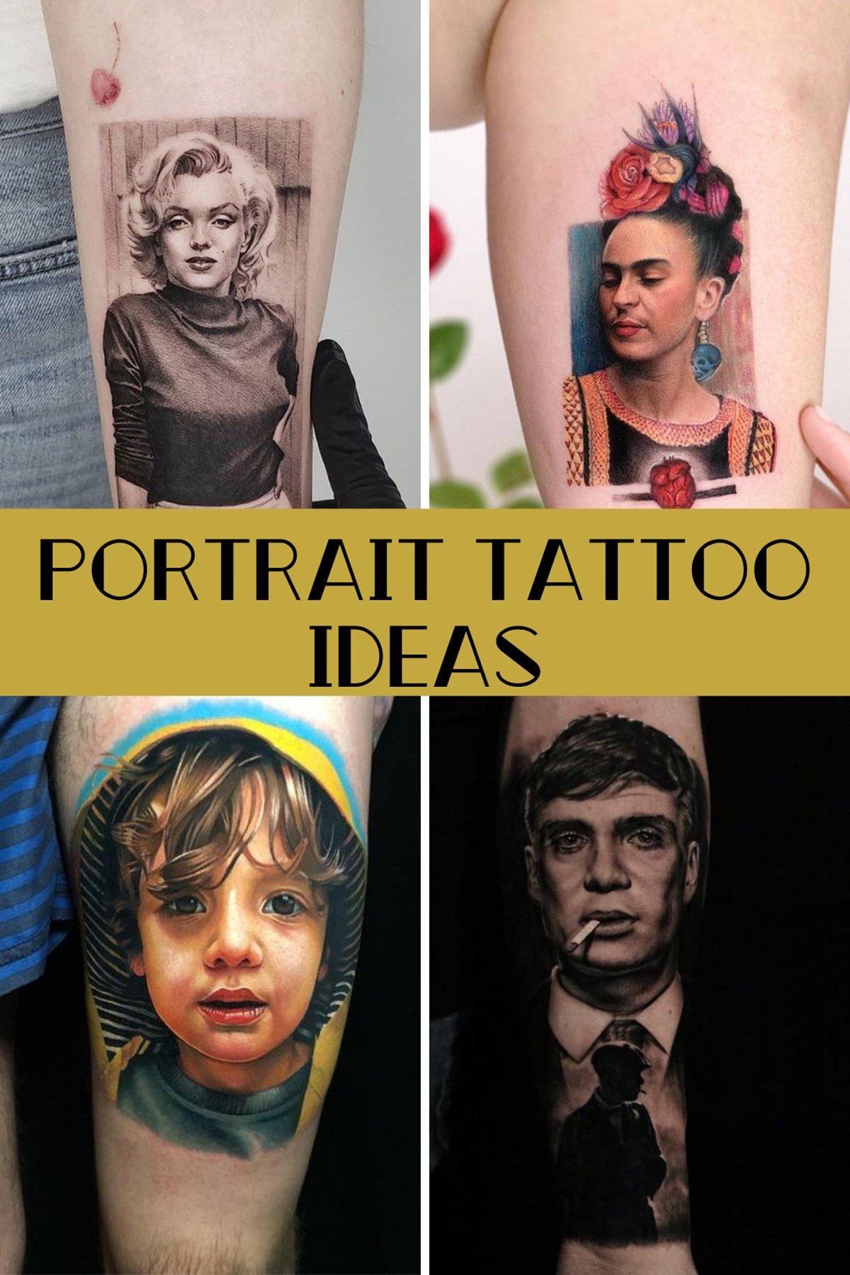 Portrait Tattoo Ideas