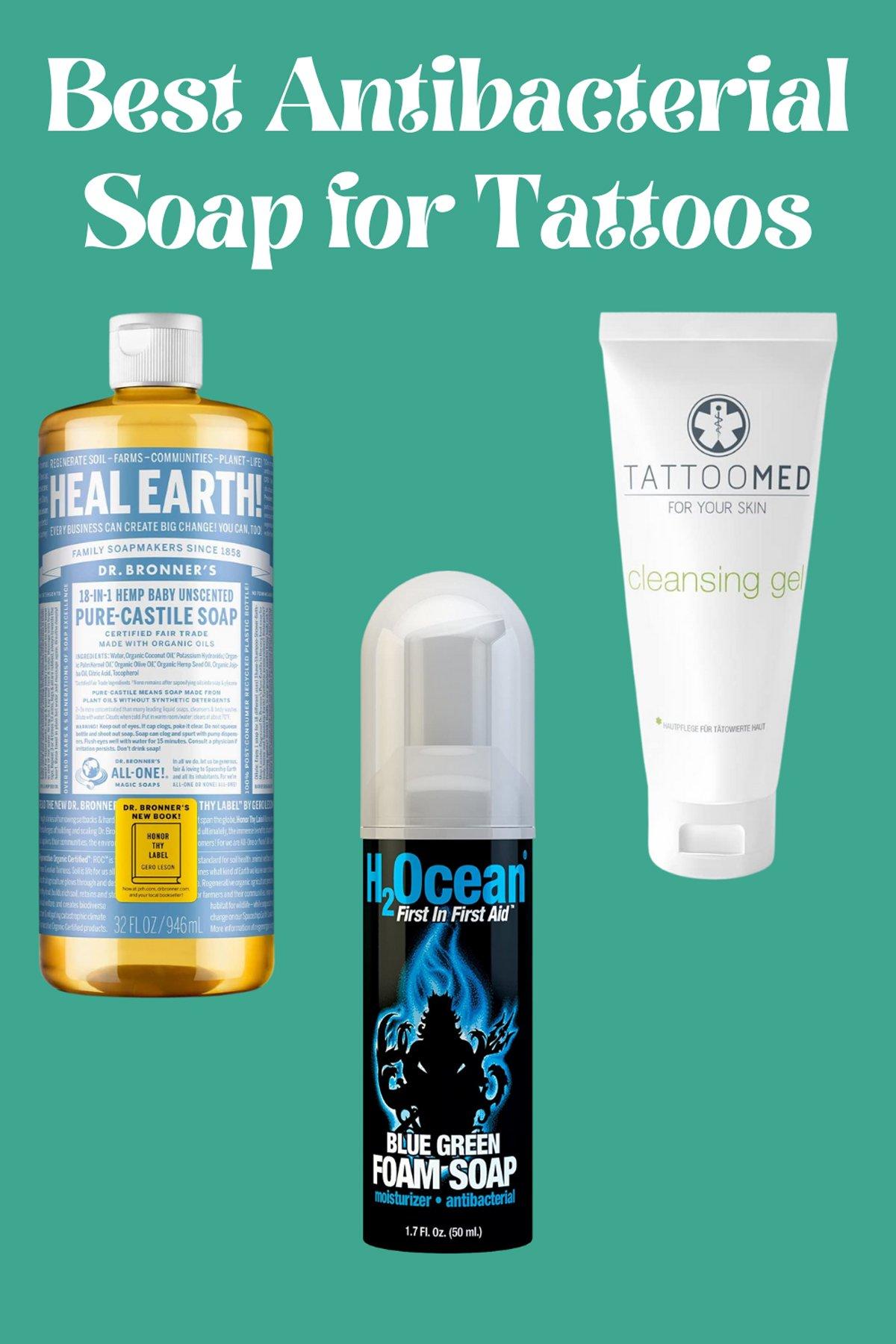 Antibacterial Soap for Tattoos