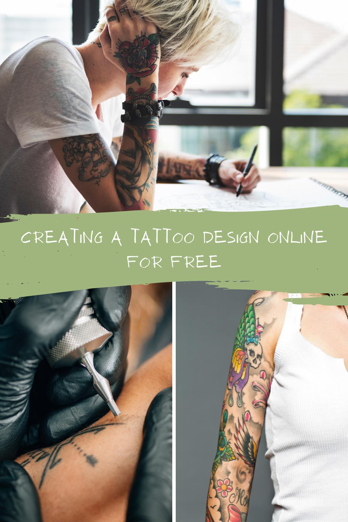 Creating a Custom Tattoo Online
