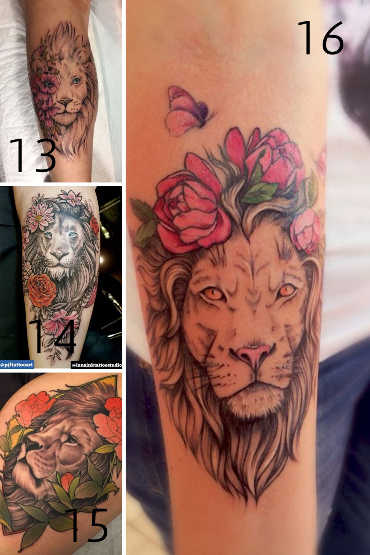 Female Lion tattoo meaning