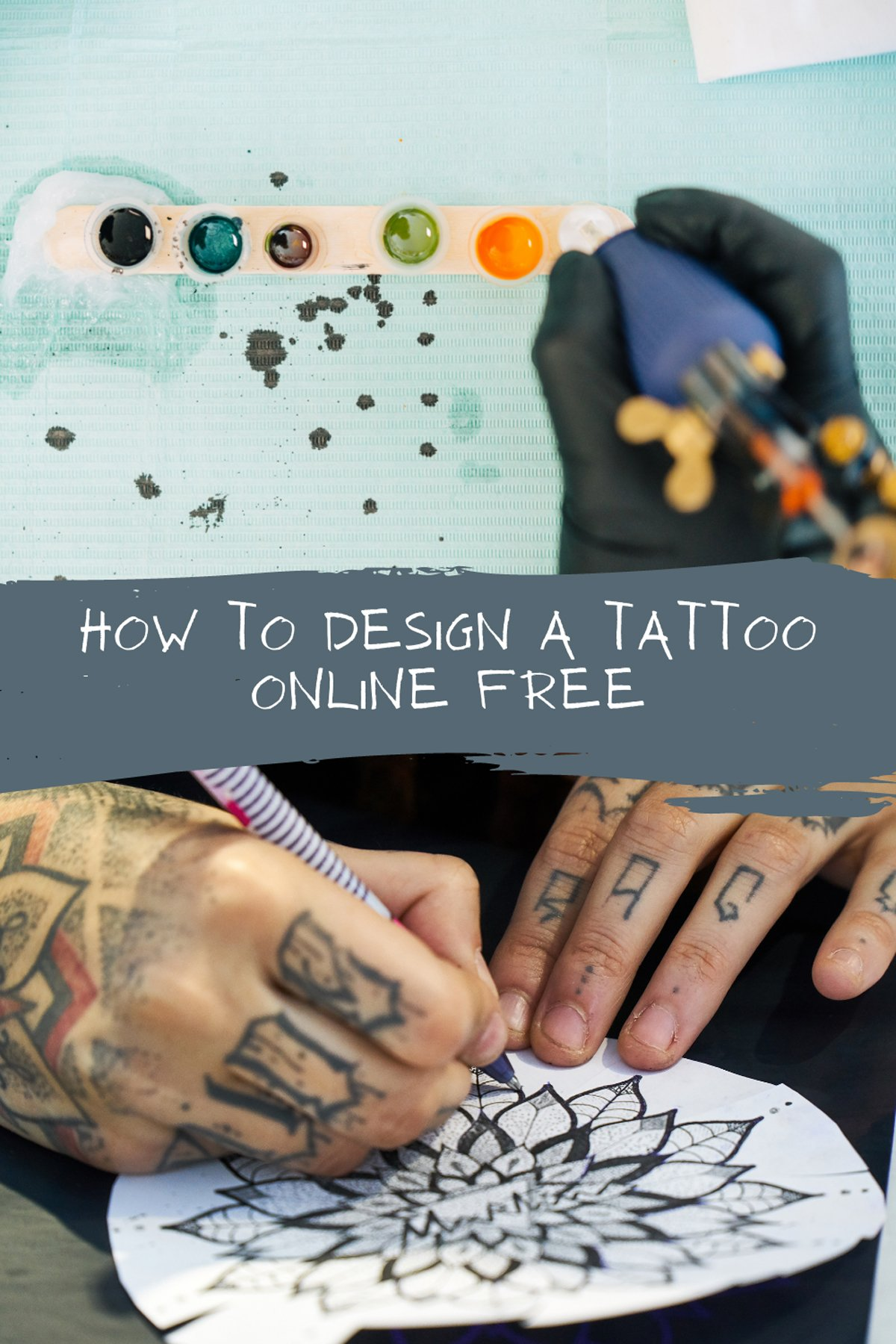 How to Design a Tattoo Online For Free