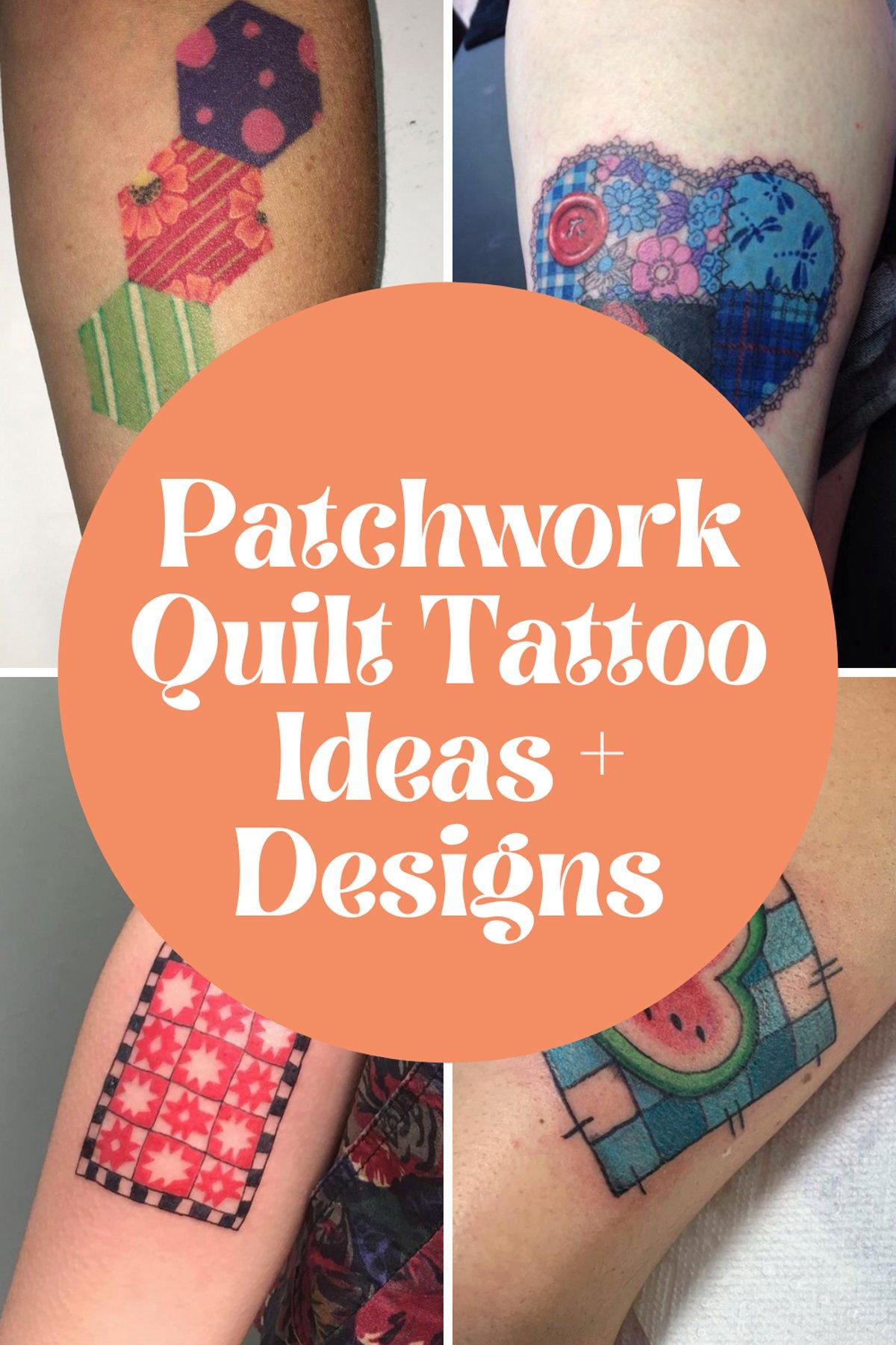 Quilt Tattoo Ideas