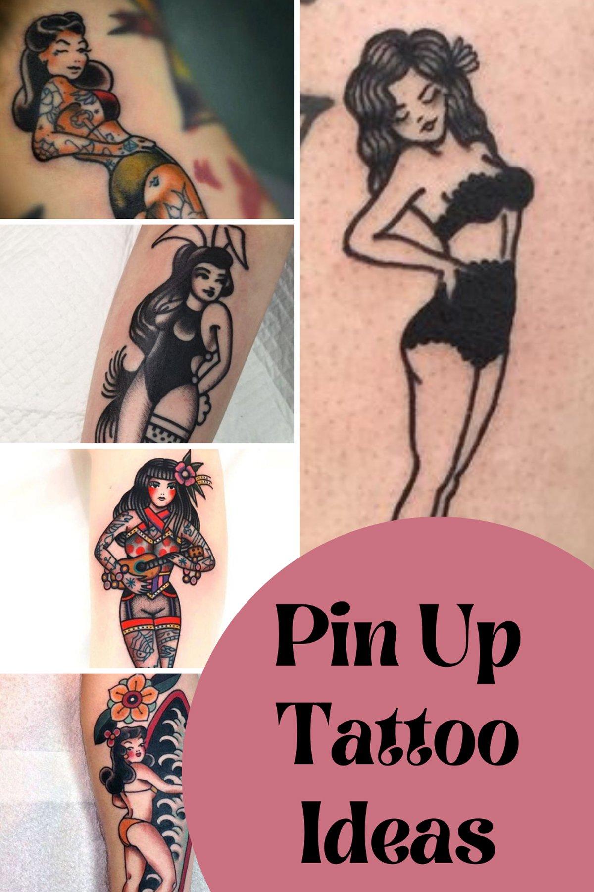 Pin Up Tattoo Ideas