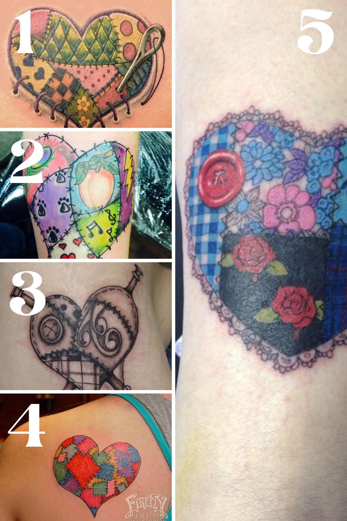 Quilt Tattoo Inspiration