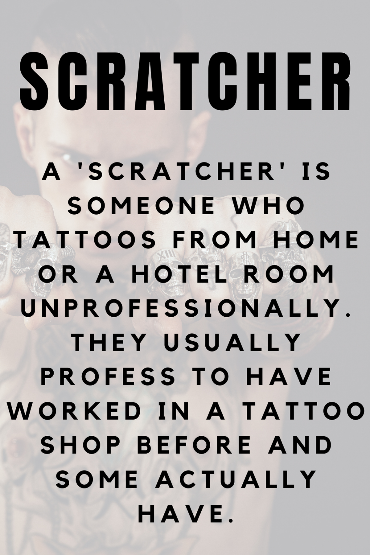 What is a Tattoo Scratcher Definition