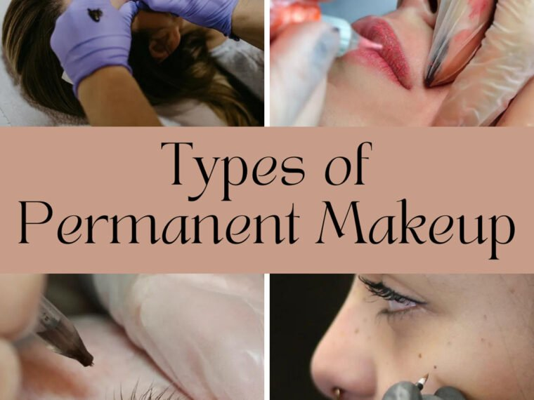 Types of Permanent Makeup