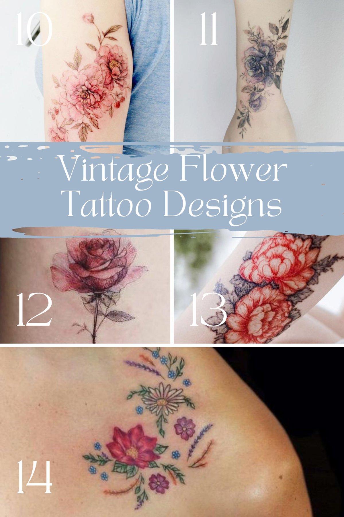 Granny Chic Tattoo Ideas