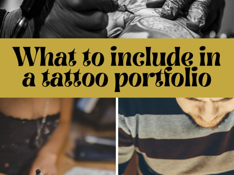 What to include in tattoo portfolio
