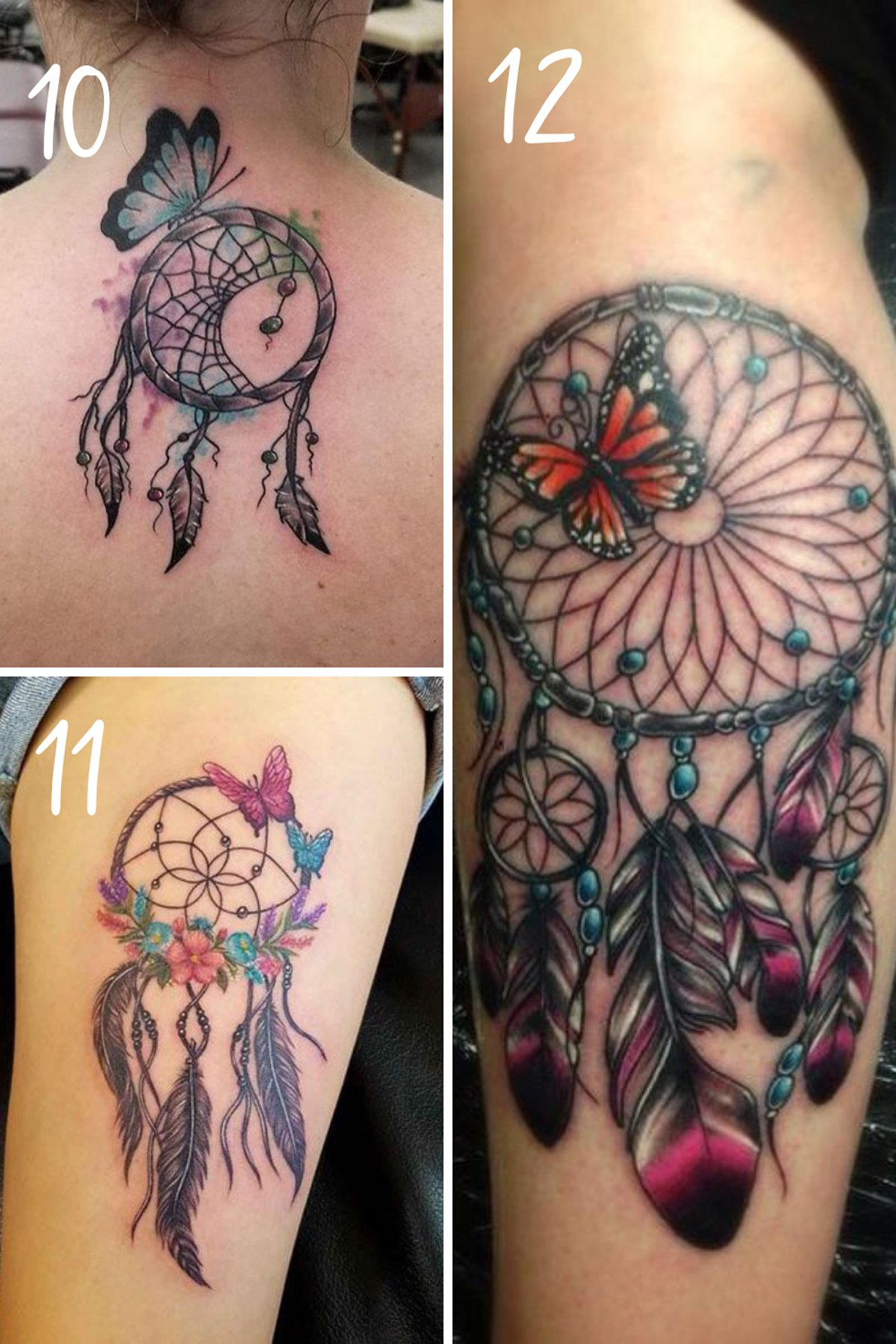 Butterfly Tattoos with dreams