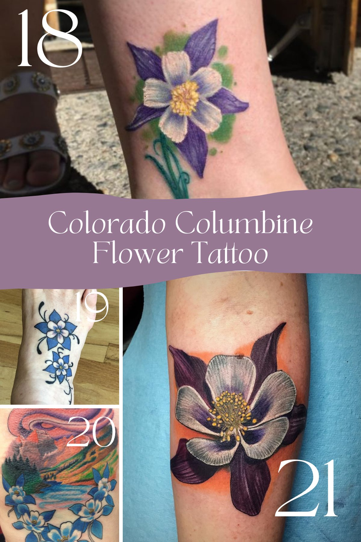 Meaningful Floral Tattoos